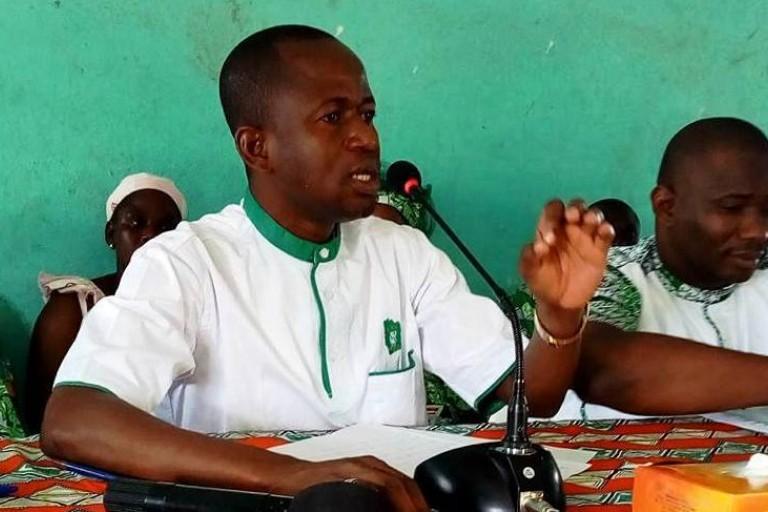 Valentin Kouassi, président de la JPDCI-urbaine reçoit du soutien