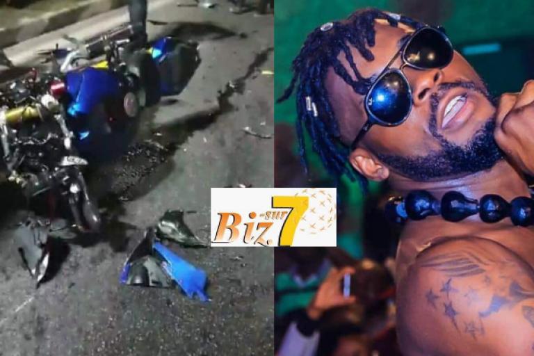 Arafat DJ victime d'un accident