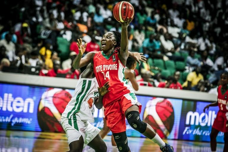 mauvaise entrée pour les Ivoires à l'Afrobasket.
