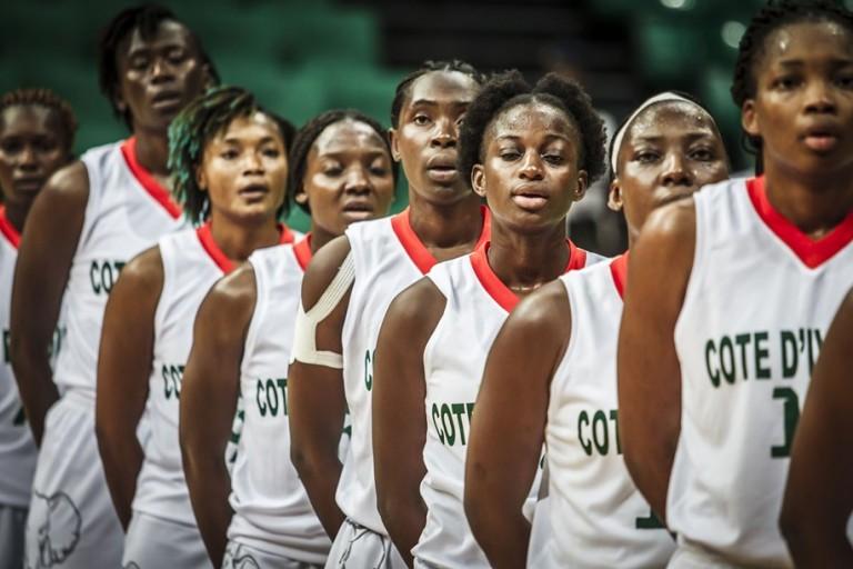 Les Ivoiriennes jouent pour une place en quarts de l'Afrobasket 2019.