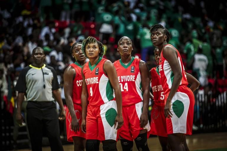 La Côte d'Ivoire finit l'Afrobasket sur une défaite.