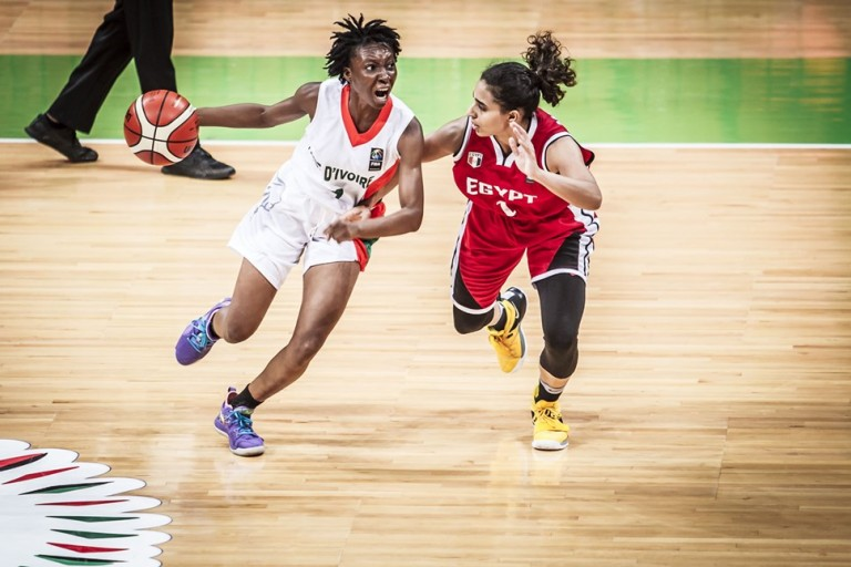 Première victoire des Ivoiriennes à l'Afrobasket.