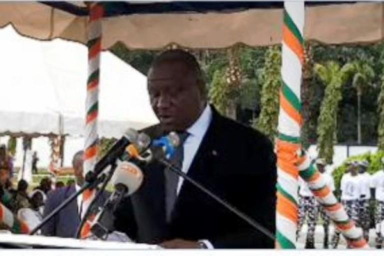 Hamed Bakayoko installe une brigade de gendarmerie à Bayota
