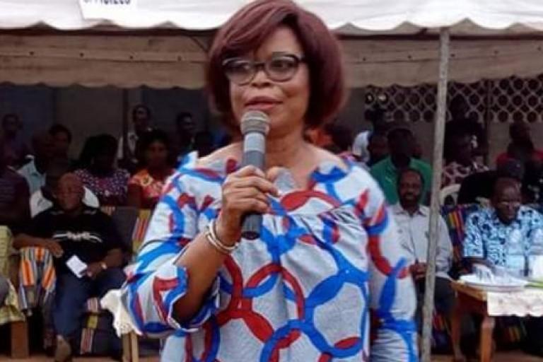 Odette Lorougnon a encore tiré sur le régime du président Alassane Ouattata