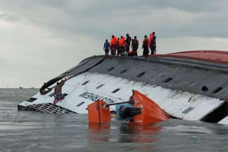 Naufrage du navire Austrheim au large de Bakassi