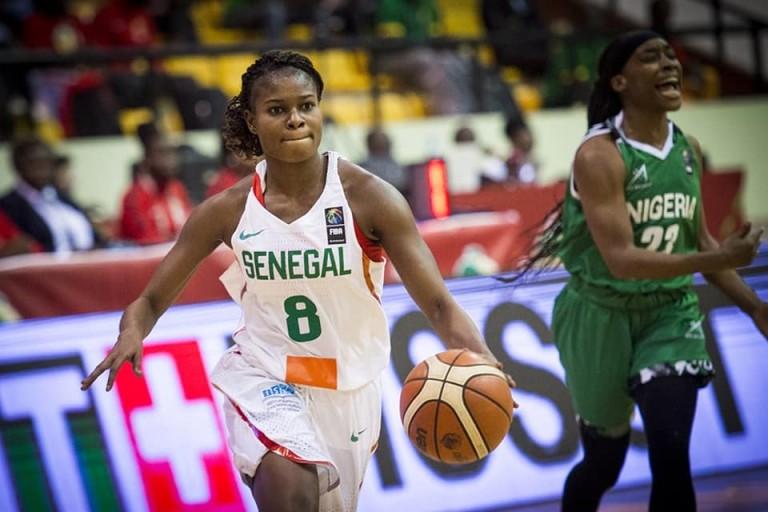 Le Sénégal en finale de l'Afrobasket.