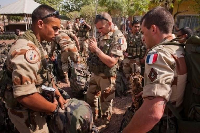 L'armée française indésirable à Toumodi