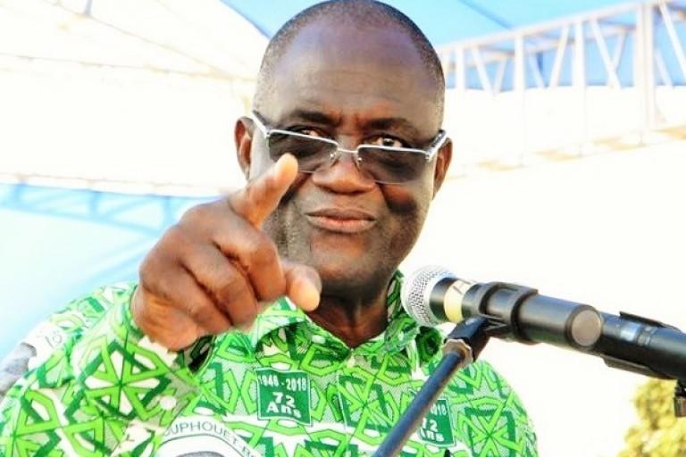 Maurice Kakou Guikahué bat le rappel des troupes du PDCI à Yamoussoukro