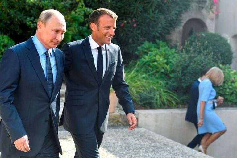 Emmanuel Macron annoncé en Russie en mai 2020