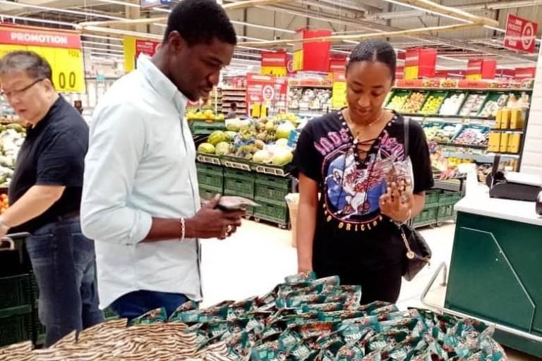 Mohamed Diaby  fier de ses produits