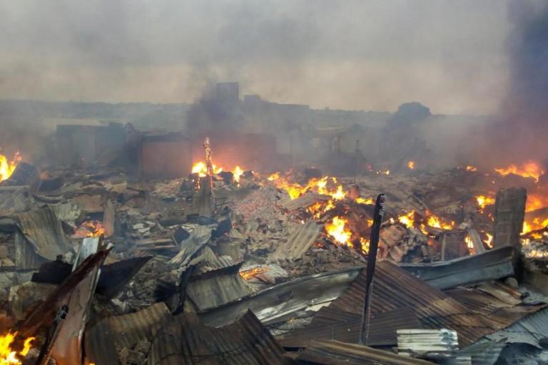 Incendie du marché de Bouaké, le maire parle