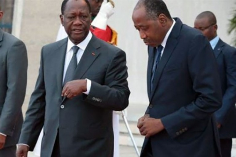 Gon Coulibaly, candidat du RHDP à la présidentielle 2020