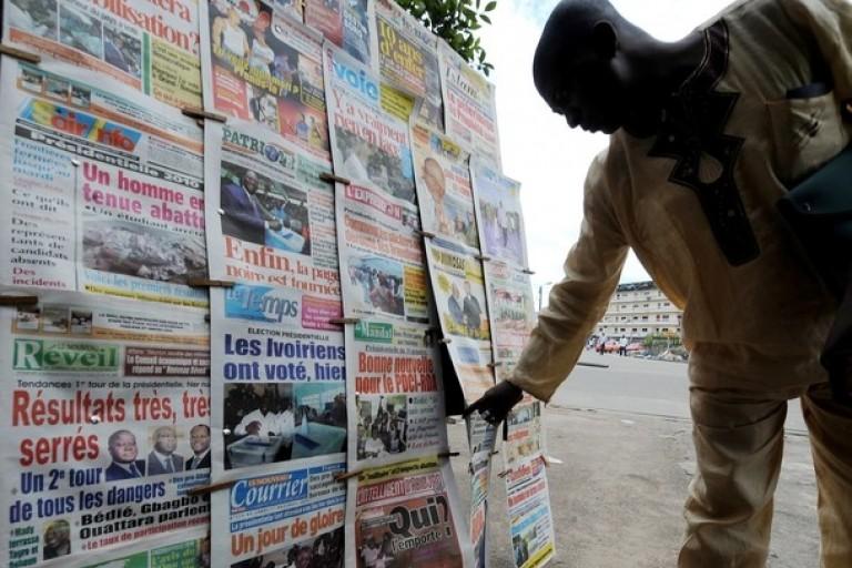Titrologie : Revue de la presse ivoirienne du 15 février 2020