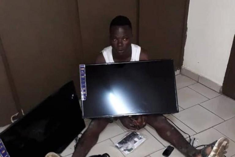 Un voleur de portables aux arrêts