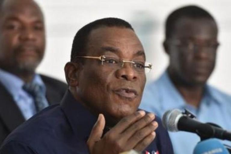 Affi N'guessan , président du Front populaire ivoirien