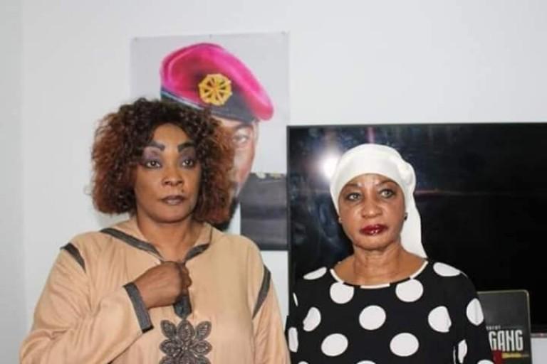 Henriette Konan Bedié chez Tina Glamour, la mère de Dj Arafat