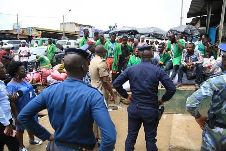 Les gnambros font toujours la loi après le passage des policiers