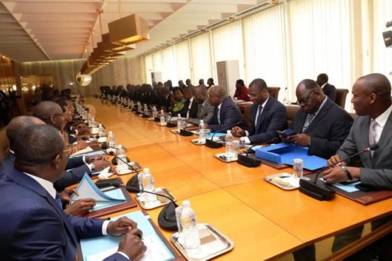 Alassane Ouattara donne ses orientations à ses ministres