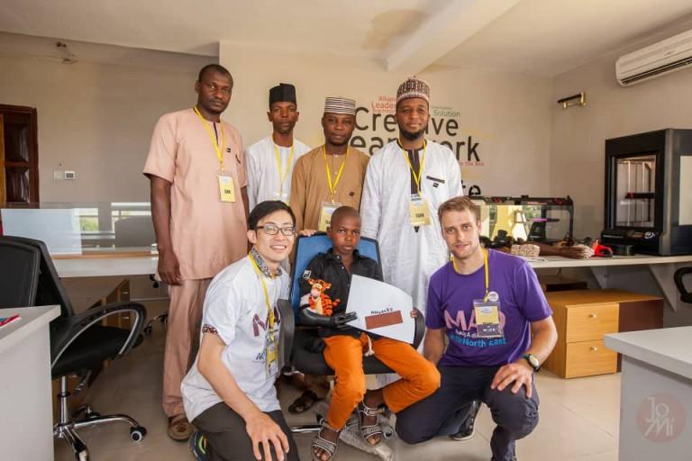 Un centre pour implanter des prothèses aux victimes de Boko Haram au Nigeria.