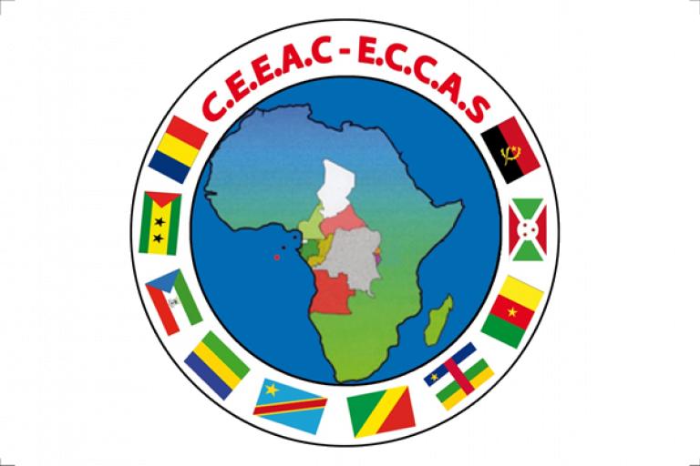 Logo de la CEEAC.