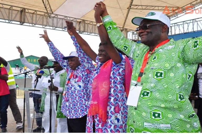 Les militants de l'opposition ivoireinne ont apporté la réplique à Alassane Ouattara