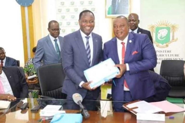 Passation de charges entre Mamadou Sangafowa et Adjoumani