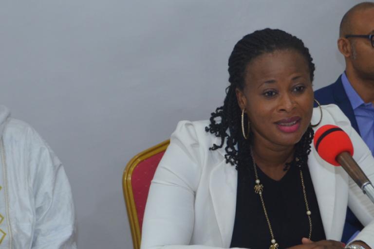 Simone Datte, présidente du COFED