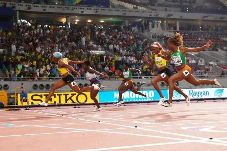 Ta lou en bronze à Doha