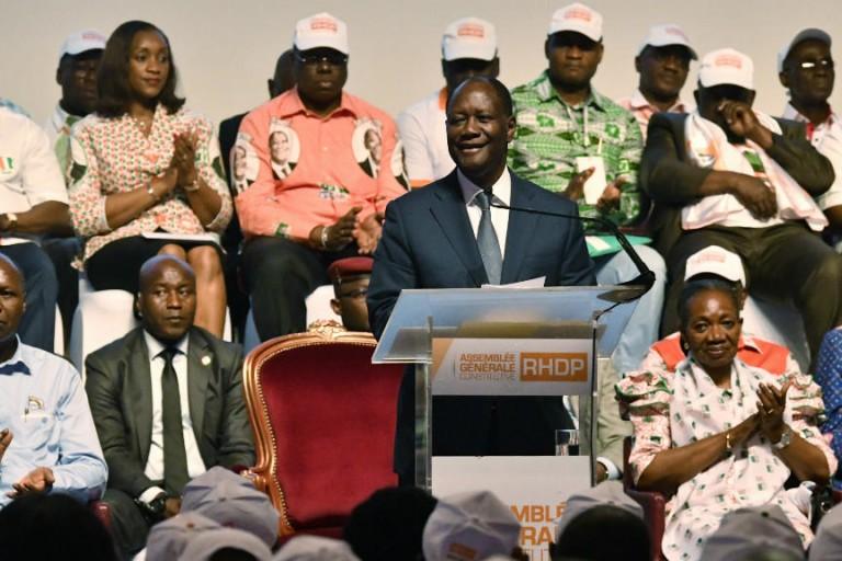 Alassane Ouattara et les cadres du RHDP en ordre de bataille pour 2020