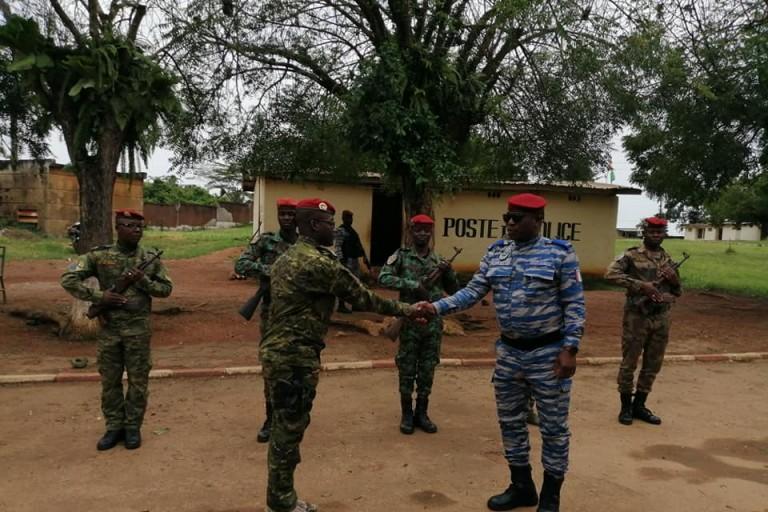 Apalo Touré appelle ses hommes à plus de vigilance