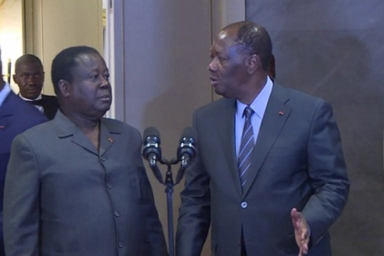 Alassane Ouattara prend les devants de la bataille de Yamoussoukro