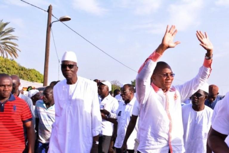 Bruno Koné en visite dans la région de la Bagoué