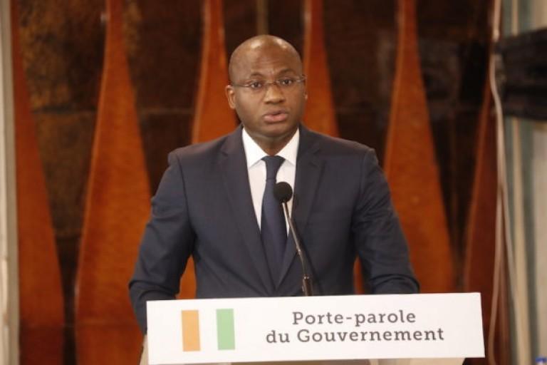 Communiqué final du Conseil des ministres lu par Sidi Touré