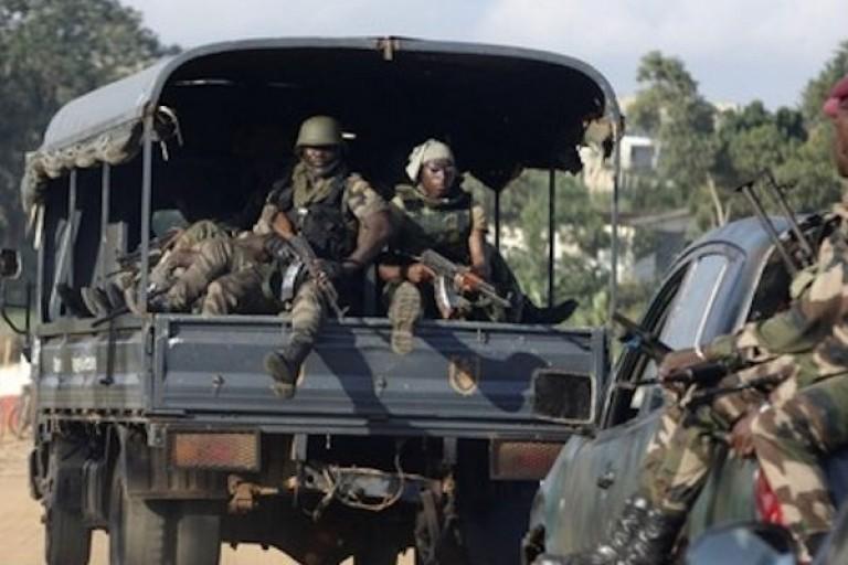 Des militaires ivoiriens débarquent à Odienné