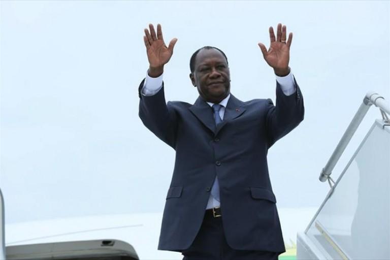 Le président Alassane Ouattara,  a quitté Abidjan pour  l'Arabie  Saoudite