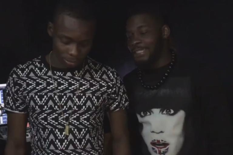 Arafat DJ et son ami Sidiki Diabaté ont partagé de bons moments