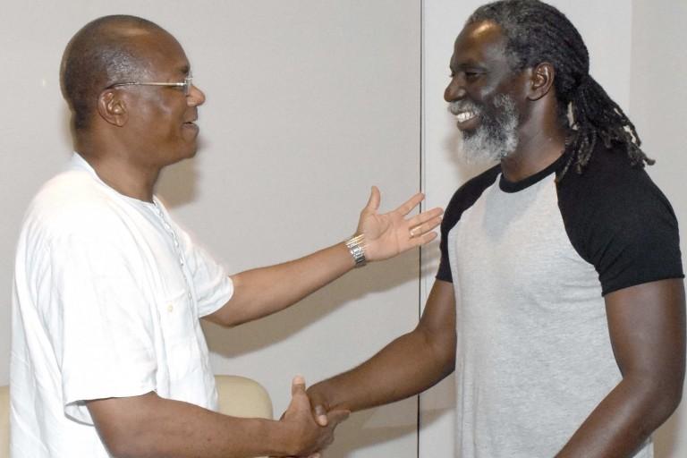 Tiken Jah Fakoly a échangé avec Bruno Koné