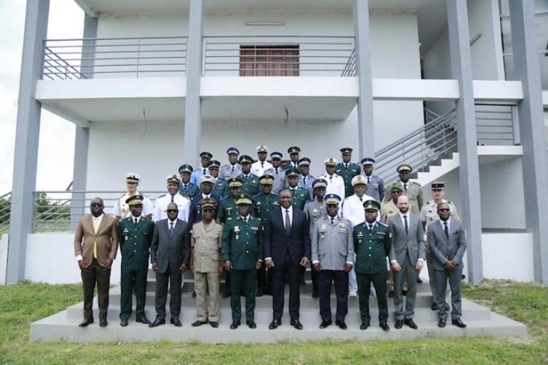 La Côte d'Ivoire a sa première école de guerre à Zambakro