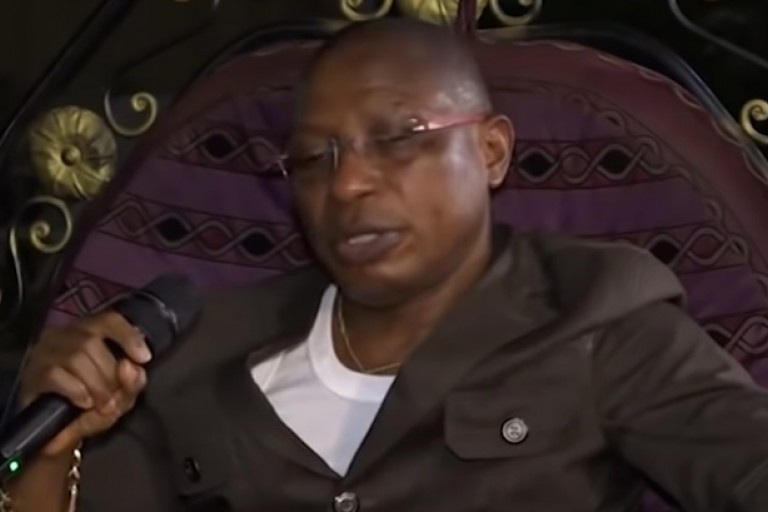 Moussa Dadis Camara, ex-chef de la junte militaire guinéenne