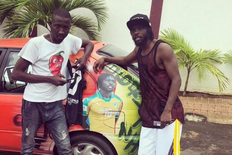 Gervinho et le Chauffeur de taxi
