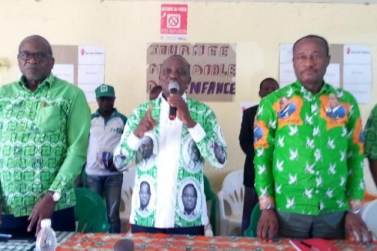 Jacques Mangoua réaffirme sa fidélité au PDCI