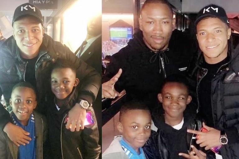 Kylian Mbappé, Mokobé et les enfants de DJ Arafat