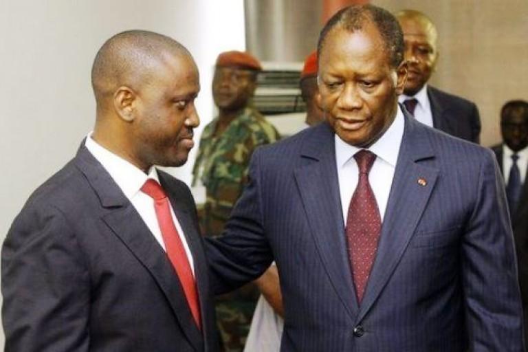 Alassane Ouattara et Guillaume Soro, le torchon brule