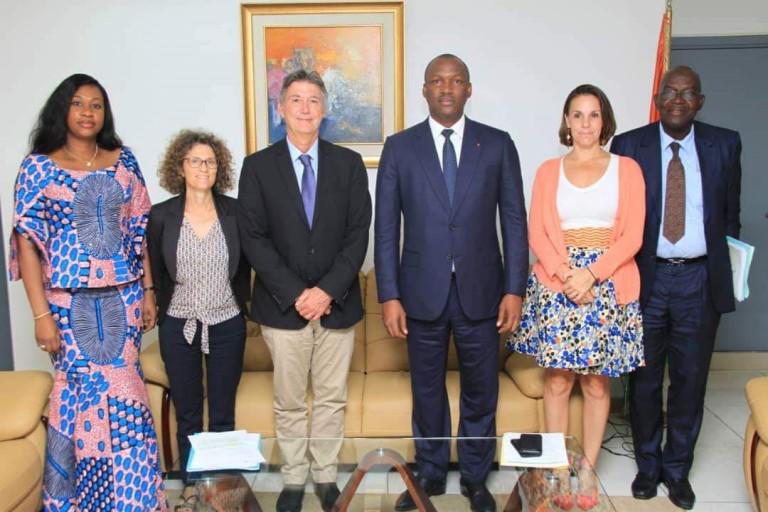 Mamadou Touré et Marc Vincent unissent leurs forces pour aider les jeunes