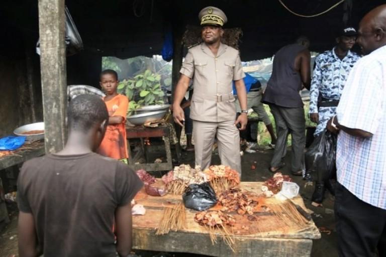 Le Préfet Vincent Toh Bi fait irruption chez des vendeurs de viande