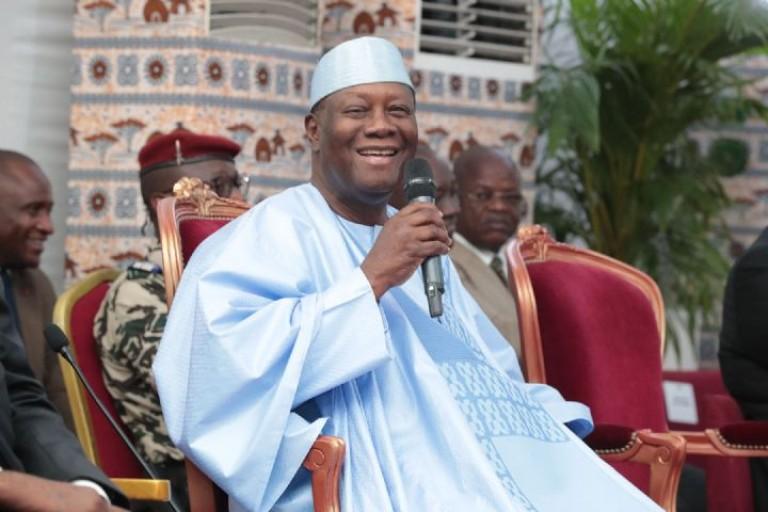 Alassane Ouattara annoncé dans le Hambol