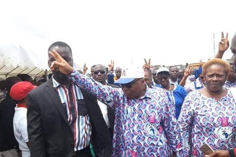Assoa Adou en tournée pour la réconciliation