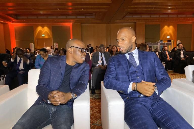Didier Drogba et ASalfo à Dubaï