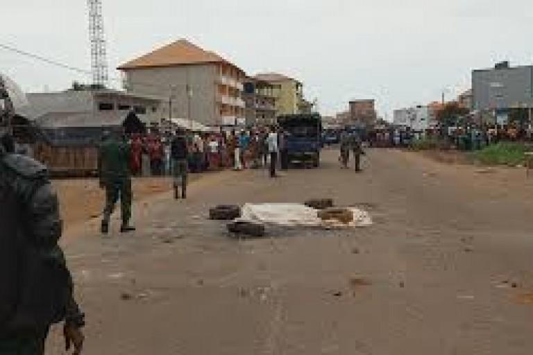 Un jeune homme a été brûlé vif, ce jour à Yopougon. (Photo d'illustration)