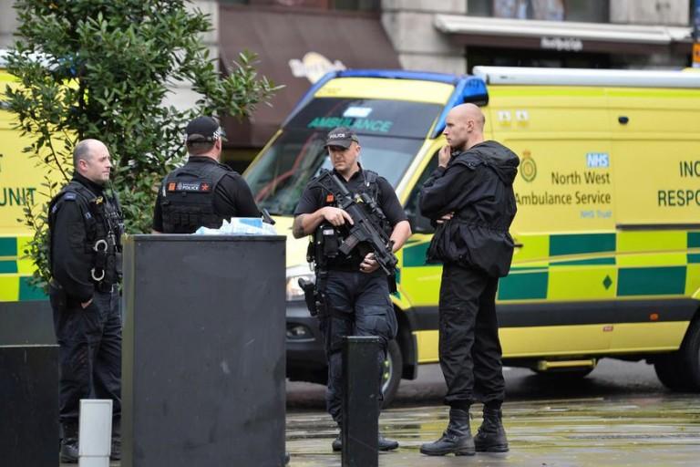 la ville de Manchester a subi une attaque au couteau